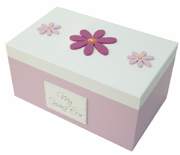 Pink Flower Sewing Box (BS04)