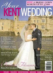 Your Kent Wedding magazine cover